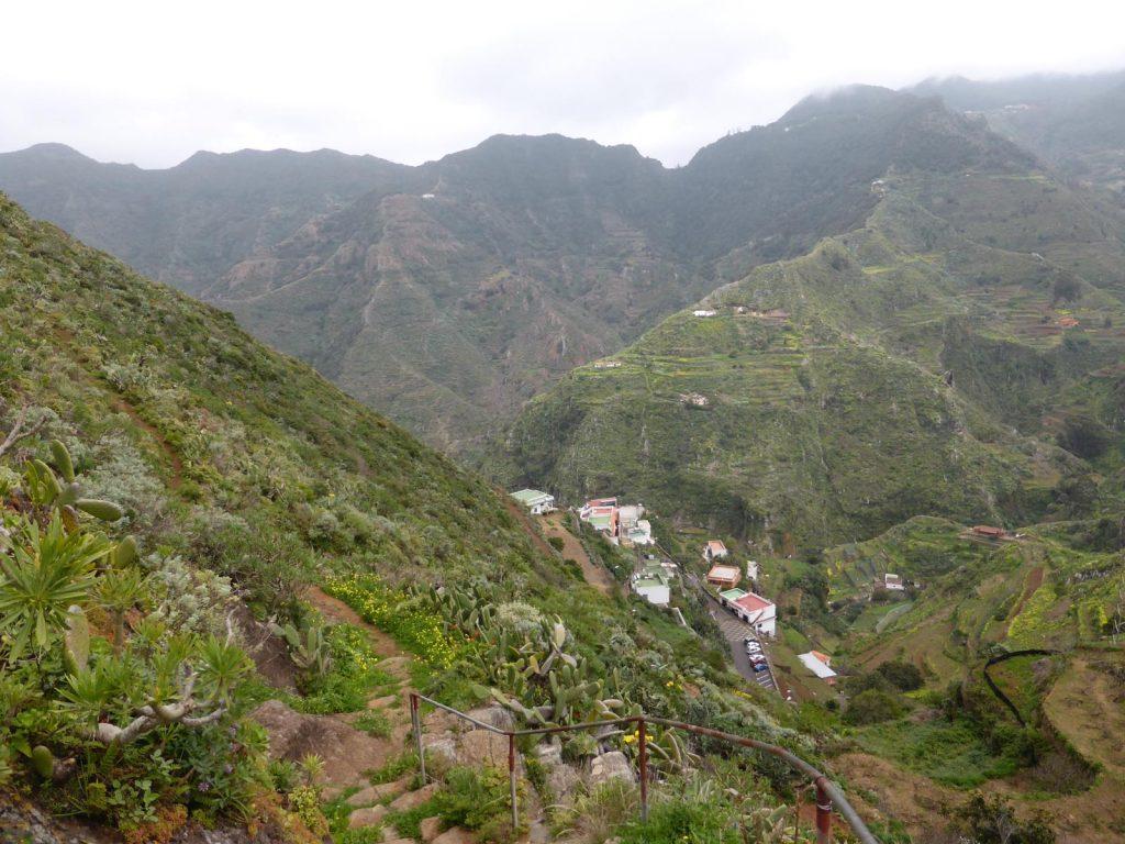 ruta de senderismo en anaga