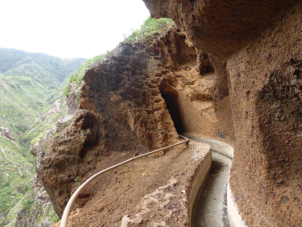 ruta de sendersimo en anaga