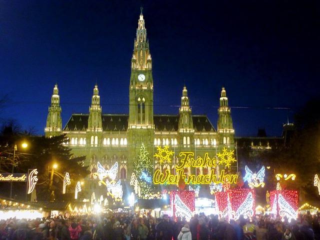 No cabe duda que los mercadillos de navidad europeos son una atracción turística digna de visitar, entre los que destacan los mercadillos navideños de Viena