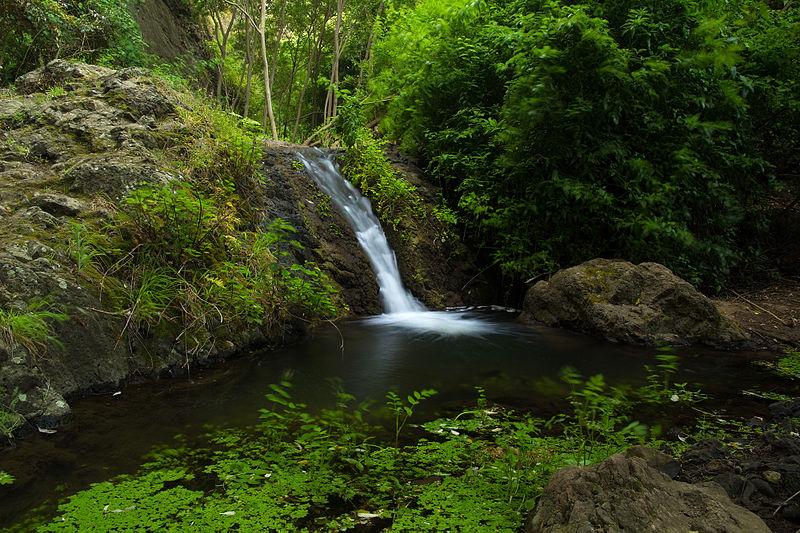 Cascadas en Canarias