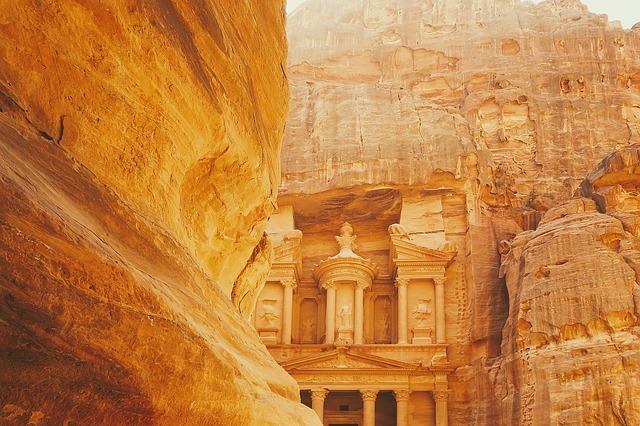 Petra, Tesoros de Jordania