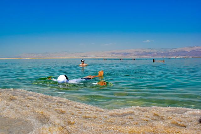 Mar Muerto, Tesoros de Jordania