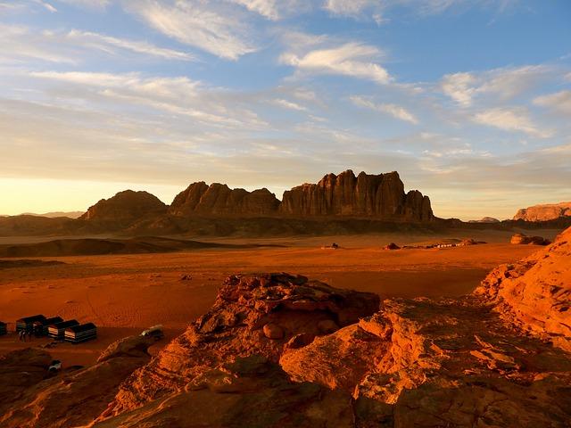 Wadi Rum, Tesoros de Jordania